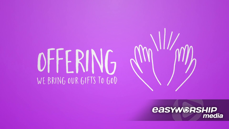 Announcements Offering by Shift Worship - EasyWorship Media